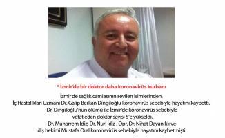 İzmir'de görev yapan Doktor Galip Berkan Dingiloğlu Koronavirüs yüzünden hayatını kaybetti!