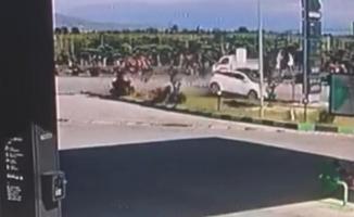 Manisa'nın Şehzadeler ilçesinde trafik kazası! 1 ölü 2 yaralı