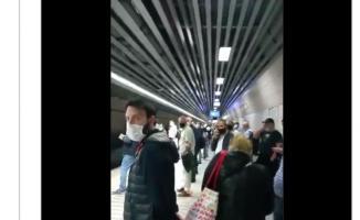 Marmaray'ın İBB tarafından işletildiğini zanneden Metin Külünk eleştiri videosu yayınladı!