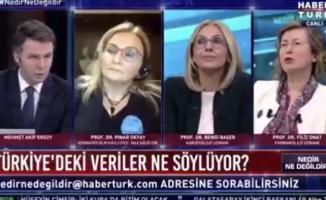 Prof Filiz Onat canlı yayında gerçek Korona tedavisi uygulanan hasta sayısının açıklanmadığını iddia etti!
