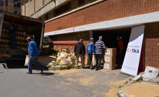 TİKA'dan Cezayir'e 12 ton gıda malzemesi gönderildi!