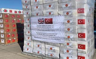 Türkiye'den İngiltere'ye giden sağlık malzemeleri kullanışsız diye depoya atıldı!