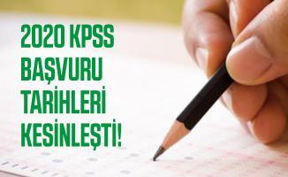 2020 KPSS başvuru tarihleri kesinleşti! KPSS Lise, Önlisans ve Lisans sınavı ne zaman yapılacak?