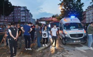 Bir otel inşaatında akşam saatlerinde göçük meydana geldi! Ölü ve yaralılar var