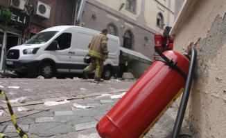 İstanbul'da ki bir lokantada patlama meydana geldi!