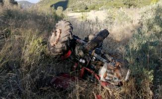 Muğla'nın Seydikemer ilçesinde traktör kazası!