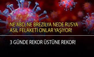 O ülke koronavirüs vaka sayısında rekor üstüne rekor kırıyor!