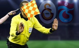 Süper Lig 30. hafta hakemleri açıklandı! Galatasaray Trabzonspor karşılaşmasını yönetecek hakem belli oldu