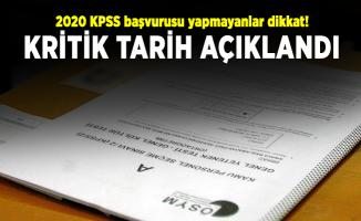 2020 KPSS başvurusu yapmayanlar dikkat! Kritik tarih açıklandı