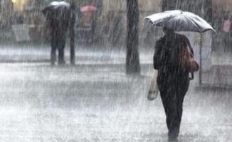 4 il için sağanak yağış uyarısı! İllere göre bugün hava durumu