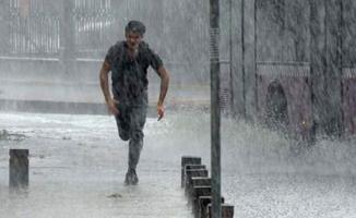 6 il için yarın akşama kadar sağanak yağış uyarısı!