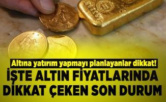 Altına yatırım yapmayı planlayanlar dikkat! 20 Temmuz altın fiyatları son durum