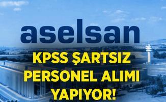 ASELSAN KPSS şartsız personel alımı yapıyor! Online başvuru ekranı..