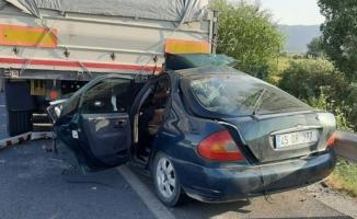 Aydın Muğla Karayolunda feci kaza! 1 ölü 1 yaralı