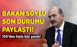 Bakan Soylu'dan fabrikadaki patlamaya ilişkin açıklama! Kahreden haberler peş peşe geldi!
