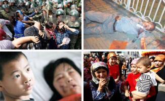Çin'in Uygur Türklerine yaptığı zulme Filistin, Irak ve İran dahil 46 ülke destek verdi!