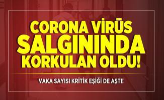 Corona virüs salgınında korkulan oldu! Vaka sayısı kritik eşiği de aştı!