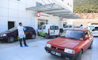 Devlet Hastanesinde gece bekçisi dehşet saçtı! Polis bekçiyi gözaltına aldı
