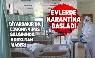 Diyarbakır'da corona virüs vakaların korkutan haber! Pandemi hastaneleri dolup taştı