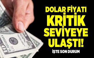 Dolar fiyatı kritik seviyeye ulaştı! Dolar ve euro fiyatlarında son durum