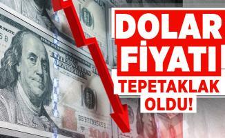 Dolar fiyatı tepetaklak oldu! Dolar ve euro fiyatlarında son durum
