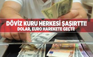 Döviz kuru herkesi şaşırttı! Dolar, Euro harekete geçti! Dolar/Euro kaç tl?
