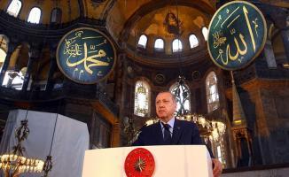 Erdoğan'ın endişesi haklı çıktı! Ayasofya'nın siyasi boyutu şimdiden kendini gösterdi!