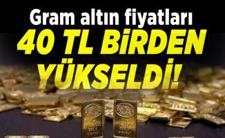 Gram altın fiyatları 40 TL birden yükseldi! 30 Temmuz altın fiyatları son durum