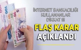 İnternet Bankacılığı Kullanan Vatandaşlara Kritik Uyarı ! Paranız Boşa Gidebilir