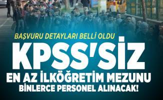 KPSS'siz en az ilköğretim mezunu binlerce personel alınacak! 10 Temmuz İŞKUR iş ilanları yayımlandı