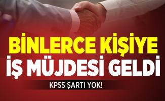KPSS'siz en az ilköğretim mezunu binlerce personel alınacak! 2 Temmuz İŞKUR iş ilanlarına başvurular başladı!