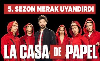 La Casa De Papel 5. sezon ne zaman yayınlanacak? La Casa De Papel yeni sezon fragmanı