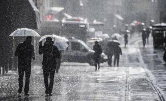 Meteoroloji o bölgeler için kuvvetli yağış uyarısı yaptı!