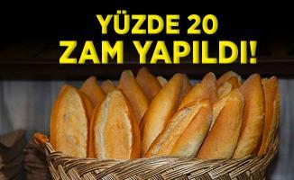O ilimizde ekmek fiyatlarına yüzde 20 zam yapıldı! Yeni fiyatlar Pazartesi geçerli olacak!