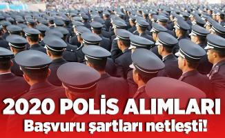 Polis alımı bekleyenleri yakından ilgilendiriyor! 2020 polis alım başvuruları! Polis alım şartları neler?