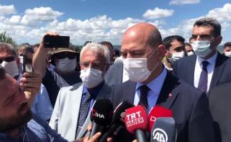 Sakarya'da meydana gelen patlama Süleyman Soylu'ya soruldu!