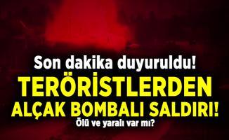 Son dakika duyuruldu! Teröristlerden alçak bombalı saldırı! Ölü ve yaralı var mı?