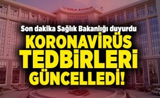 Son dakika Sağlık Bakanlığı koronavirüs tedbirleri güncelledi! Yeni kararlar alındı
