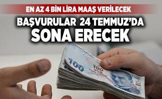 TUBİTAK KPSS'siz en az 4 bin lira maaşla personel alımı yapacak! Başvuru şartları açıklandı
