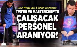 Acun Medya yeni iş ilanları yayımlandı! TV8'de ve Masterchef'te çalışacak personel aranıyor!