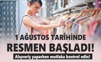 Alışveriş yaparken mutlaka fiyat etiketi ve listesini kontrol edin! Kanun emrediyor