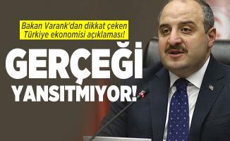 Bakan Varank'dan dikkat çeken Türkiye ekonomisi açıklaması! Gerçeği yansıtmıyor!