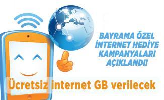 Bayrama özel internet hediye kampanyaları açıklandı! Ücretsiz internet GB verilecek