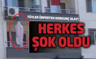 Bursa'da tüyler ürperten korkunç olay! Evin balkonunda asılı hale bulundu