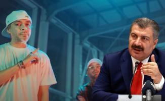 Ceza'dan yeni şarkı! Yak isimli şarkının sözlerinde Sağlık Bakanı Koca'nın o sözlerinde atıfta bulundu!
