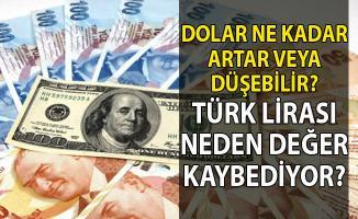 Dolar kuru ne kadar yükselir veya düşer?