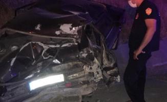 Elazığ-Tunceli yolunda feci kaza! 1 ölü 7 yaralı