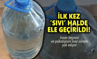 Eskişehir'de otomobilin bagaj kısmında su şişesinde ilk kez sıvı metamfetamin ele geçirildi!