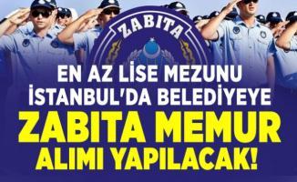 Eyüpsultan Belediyesi KPSS 70 ile 25 adet zabıta alımı başvuruları 21 Ağustos'ta sona eriyor!