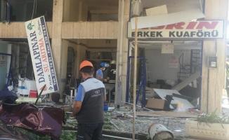 Konya'da şiddetli doğalgaz patlaması meydana geldi!
